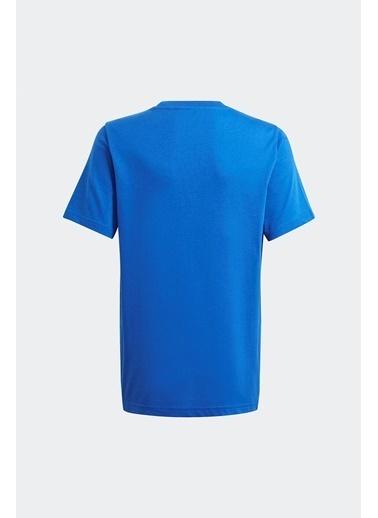 adidas Adidas Erkek Çocuk Günlük T-Shirt Tee Gn2299 Mavi